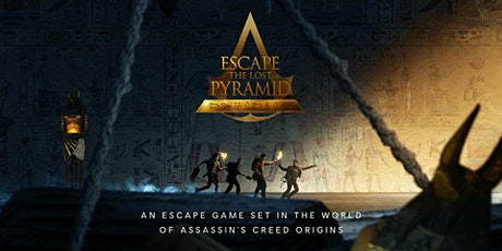 Escape the Lost Pyramid at the Museum of Ancient Wonders tickets