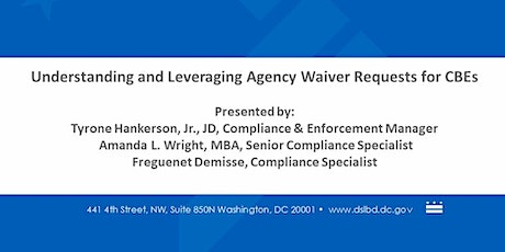 Understanding and Leveraging Agency Waiver Requests for CBEs tickets