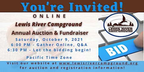 Lewis River Campground Annual  Online Fundraiser Auction 2021 tickets