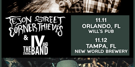 Tejon Street Corner Thieves, IV and the Strange Band, and more in Orlando tickets