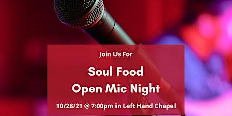 Soul Food Open Mic Night tickets