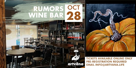 Sip and paint at Olympia Wine bar, Rumors! tickets
