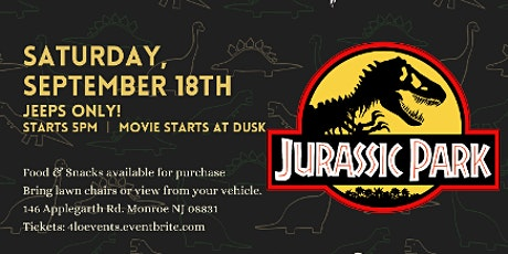 Jeeps Only Drive-In Night: Jurassic Park tickets