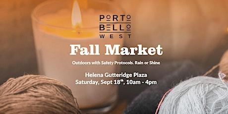 Portobello West Fall Outdoor Market 2021 tickets