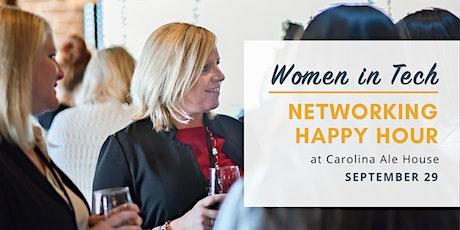 Women in Tech Networking Happy Hour - September 2021 tickets
