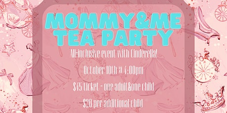 Mommy & Me Cinderella Tea Party tickets