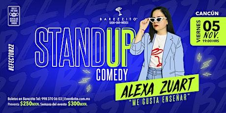 Alexa Zuart | Stand Up Comedy | Cancún tickets
