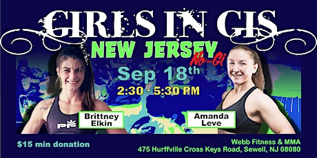Girls In Gis New Jersey-Sewell No-Gi Event tickets