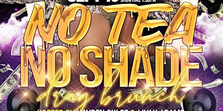 No Tea No Shade: BLACK PRIDE Drag Brunch tickets