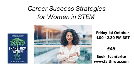 Group Coaching: Career Success Strategies for Women in STEM tickets