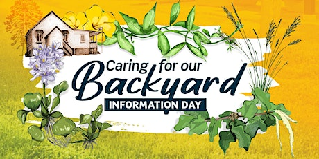 Caring for our Backyard tickets