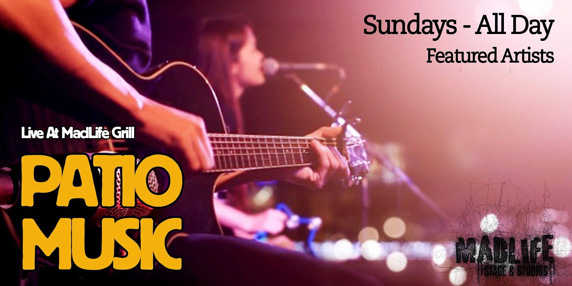 SUN Patio Greg Shaddix & Dallas McGee, Roger Wilson, & Mark Cook Trio