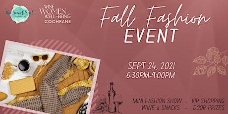 Cochrane: Fall Fashion Event tickets