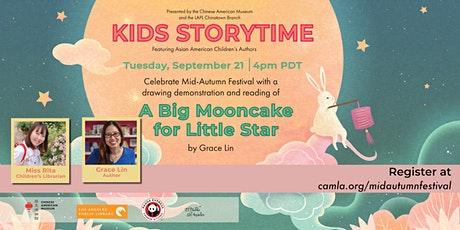 Kids Story Time and Drawing Demonstration - Mid-Autumn Festival Edition! tickets