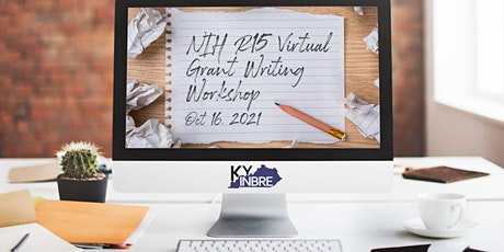 KY INBRE NIH R15 Virtual Grant Writing Workshop tickets