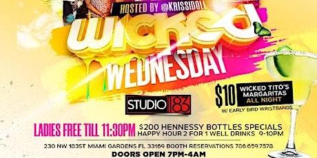 Wicked Wednesday tickets