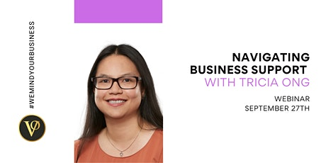 Tricia Ong | Navigating Business Support with Prime Strategies Group tickets