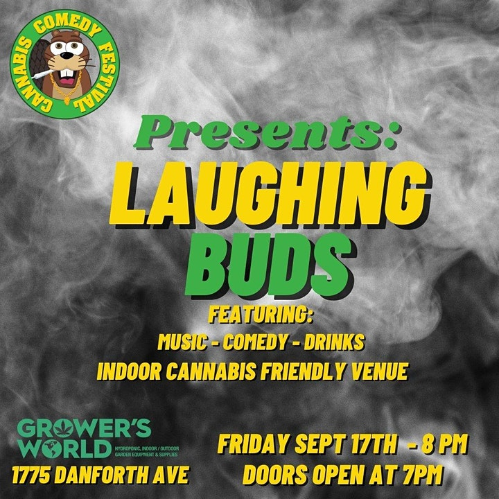 Cannabis Comedy Festival Presents: Laughing Buds o image
