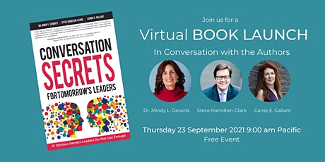 """Book Launch Party: """"Conversation Secrets for Tomorrow's Leaders"""" tickets"""