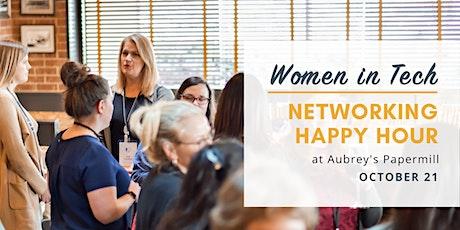 Women in Tech Networking Happy Hour - October 2021 tickets