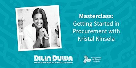 Dilin Duwa Online Masterclass : Getting started in Procurement tickets