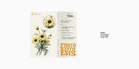 PHOTOSYNTHESIS / September 2021 tickets