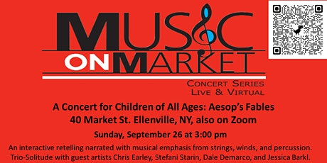 A Concert for Children of All Ages: Aesop's Fables tickets