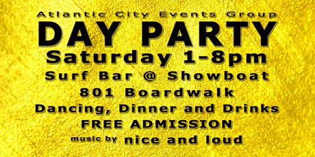 Day Party On The Atlantic City Boardwalk tickets