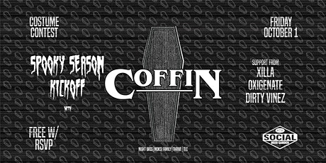 Coffin   10/1/21   Social Beer Garden tickets