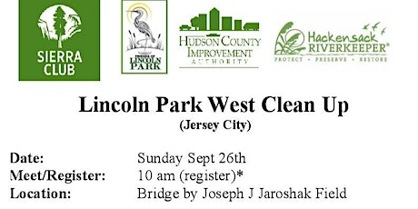 Friends of Lincoln Park Shoreline Clean up tickets