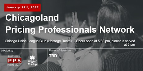 Chicagoland Pricing Professionals Network, January 2022 tickets