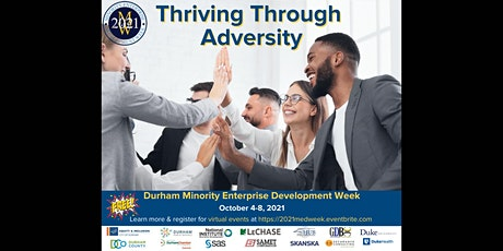 Durham's 2021 Minority Enterprise Development (MED) Week tickets