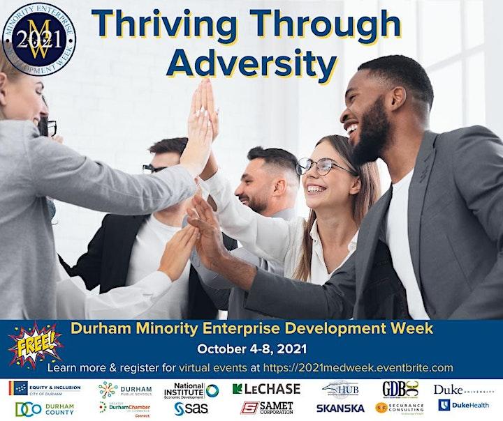 Durham's 2021 Minority Enterprise Development (MED) Week image