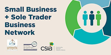 Small Business + Sole Trader Business Network tickets