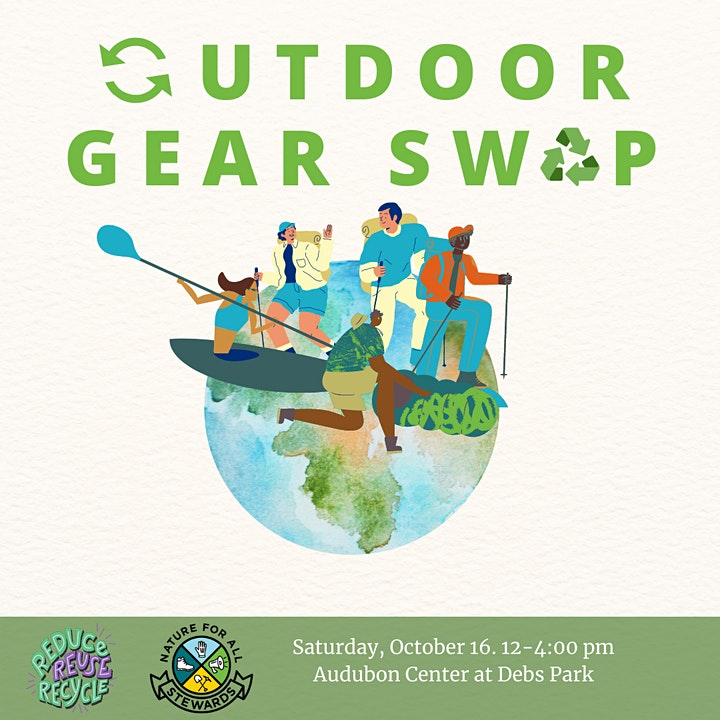 Nature for All Stewards presents the Outdoor Gear Swap image