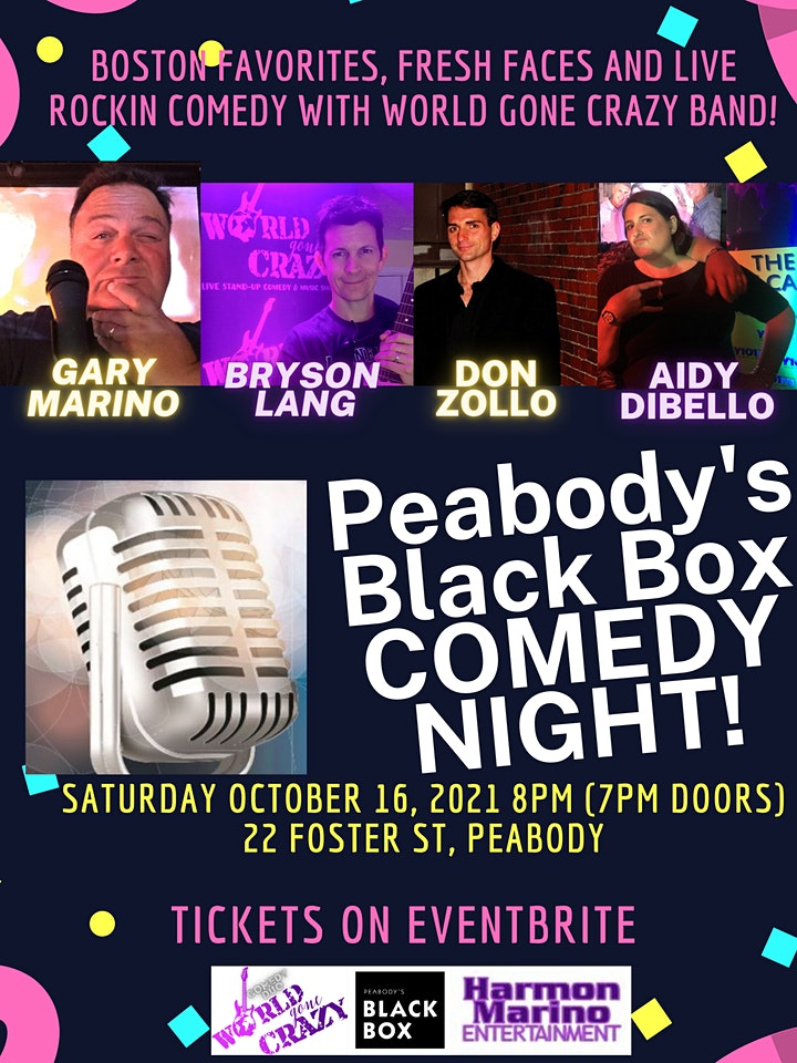 Peabody's Black Box Comedy Night image