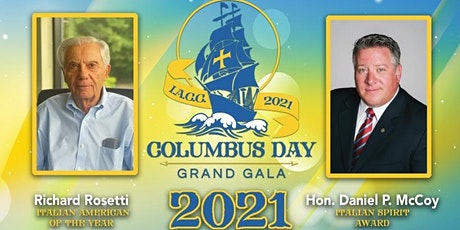 The 2021 Columbus Day Grand Gala tickets