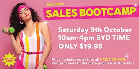 Juice Plus+ Sales Bootcamp tickets