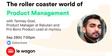 The roller coaster world of Product Management - Online Talk ingressos