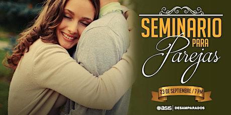 Seminario para Parejas |  23  de Sep - 04 de Nov entradas