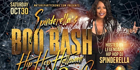 Spinderella's BOO BASH Hip Hop Halloween Costume Party tickets