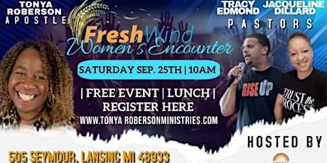 FreshWind Women's Encounter tickets