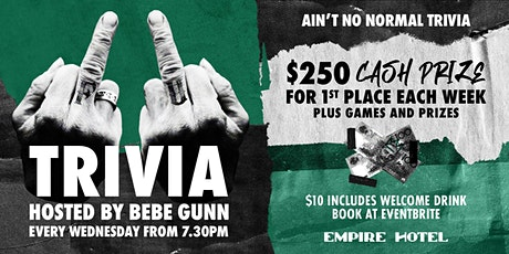 FU Trivia With Bebe Gunn tickets