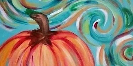 Pumpkin Paint Night and Appetizers buffet! tickets