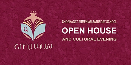 Shoghagat Open House and Cultural Evening tickets