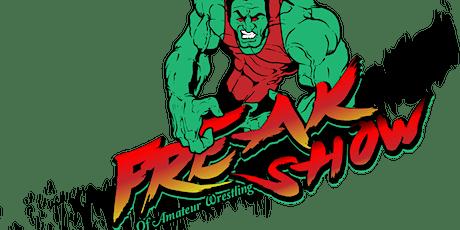 Freakshow of Amateur Wrestling tickets
