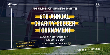 JMSM's 6th Annual Charity Soccer Tournament billets