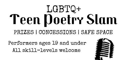 Teen Poetry Slam tickets