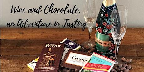 Chocolate Pairing Adventure Series - Wine & Chocolate #2 tickets