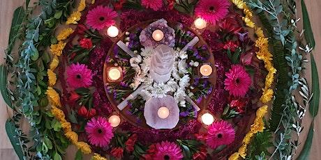 Spring Equinox Botanical Mandala Sacred Circle tickets